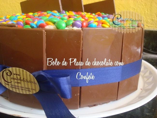 BOLO DE PLACA DE CHOCOLATE, PEDIDO PELA NOSSA CLIENTEKELLY