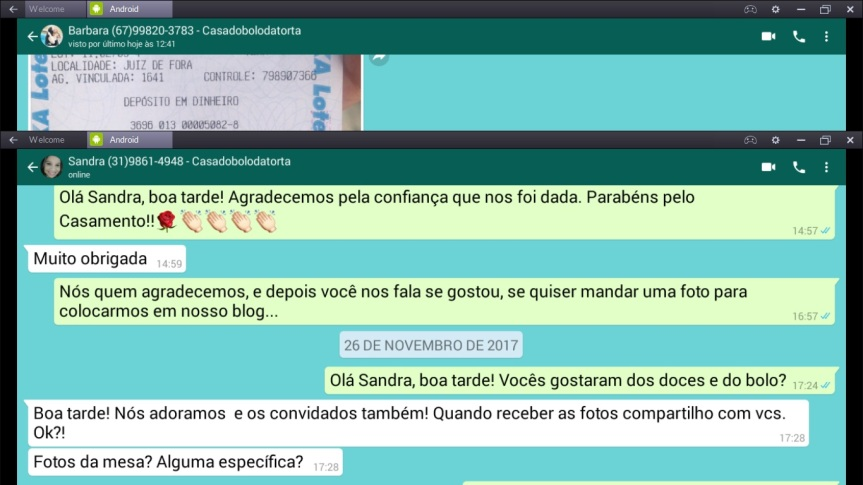 ELOGIOS DE SANDRA